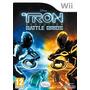 Juego Wii Tron Usado Battle Grids Con Caja Impecable