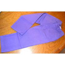 Pantalones Gabardina Algodon Pima 2 Colores Little Treasure.