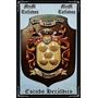 Escudos Heráldicos Tallados En Madera Personalizados
