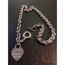 Collar Tiffany Gruesa 50 Cm + Dije Corazon Acero Quirurgico