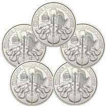 Austria-1 Onza Plata Pura -certificado-año Varios-1,50 Euros