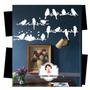 Vinilos Decorativos Pájaros En Rama
