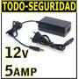 Fuente Switching 12v 5a Regulada P/ Luz Tira Led Camara Cctv