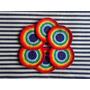 Tejidos Artesanales A Crochet: Posavasos Arcoiris!