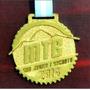 Medalla Llavero Trofeo Grabado Laser En Fibro Color X 10 U.