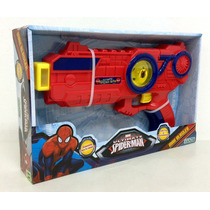 Pistola Max Blaster Spiderman Sonido,luz Original Ditoys