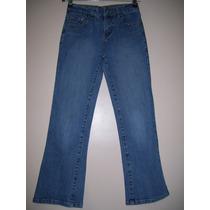 Pantalón Niña Talle 10-12 Años Jeans Elastizado