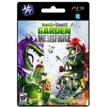 Plantas Vs Zombie Garden Warfare Juego Ps3 Store Microcentro