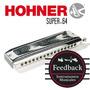 Hohner Super-64 - Armonica Cromatica 64v - Abs - C