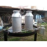 Tacho De Leche  50 Litros  Aluminio Para Adorno