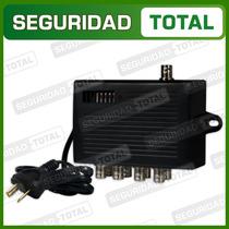 Distribuidor Video Compuesto 1 X 8 Amplificador Color B/n