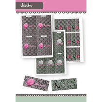 Etiquetas Shabby Chic Mujer - Kit Para Imprimir En Casa!