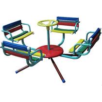 Calesitas Infantiles 4 Asientos Color Reforzada 108cm X 46cm
