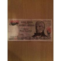 Billetes 10 Pesos Argentinos Gral. San Martin
