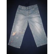 Pantalon Jeans Nena, Importado, Hermoso, T.2