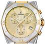 Reloj Festina F16758 Crono 50m Wr Cristal Mineral Acero Gold