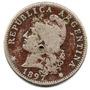 Moneda Niquel 20 Ctvs. 1897.muy Buena