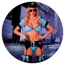Disfraz Sexy Erotico Policia Oficial Art#140 Sexshop Kisme