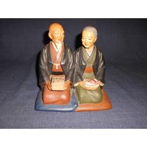 Figura Ceramica Japonesa Hakata Urasaki Dolls