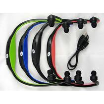 Auricular Inalambrico Sport Mp3 Fm Micro Sd Hasta 32 Gb