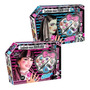 Set Monster High Peluca Maquillaje Uñas Stickers Accesorios