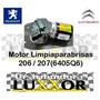 Motor Limpiaparabrisas Original Peugeot 206 / 207 6405q6