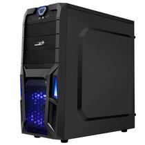 Gabinete Gamer Sentey Gs 6008 Stealh Usb 3.0 X 2 Fans Y Ssd