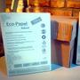 Resma De Eco Papel Reciclado Natural A4 De 80 Grs Ecológico