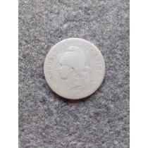 Argentina Moneda 20 Centavos Antigua Año 1896 Muy Escasa