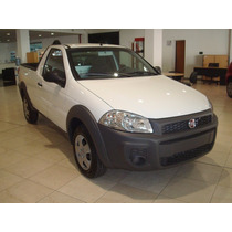 Anticipo$15.000 Y Cuotas-fiat Strada Working Cabina Simple