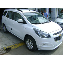 Chevrolet Spin Ltz 5 Y 7 Asientos Full Mt Y At Entrega Ya!