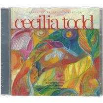 Cecilia Todd Canta A Henry Martínez- Cd Original