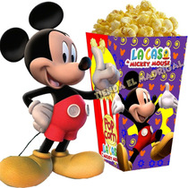 Mega Kit Imprimible La Casa De Mickey Mouse 100% Modificable