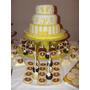 Torta Y Mesa Dulce De Comunion Cupcake Popcake