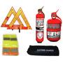 Kit Reglamentario Seguridad Para El Auto 4 En 1 Envío Gratis