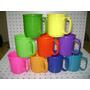 35 Tazas De Plásticos, Azules, Amarillas, Rojas, Verdes