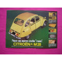 Folleto Publicidad Citroen M28 Con Ficha Tecnica