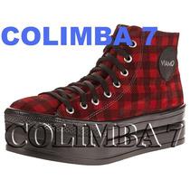 ¡¡ Viamo Botas Zapatillas Mod. Cibeles 100% Cuero Nueva N°38