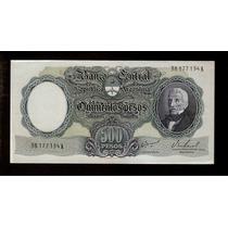Guardia Imp. Banco Central 500 Pesos M / N 1967