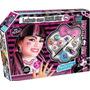 Disfraz Monster High Draculaura Maquillaje Peluca Uñas