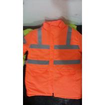 Campera Vial,trabajo,seguridad,imperneable,frio,reflectiva