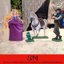Princesa Rapunzel Y Sus Personajes...flynn, Max, Pascal...