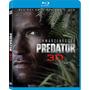 Blu Ray Predator 3d / Depredador / 3d+2d+dvd / Local 23hs.
