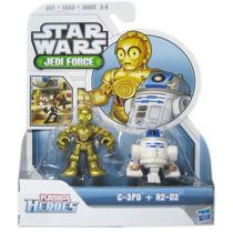 Star Wars C-3po Y R2-d2 Playskool Heroes