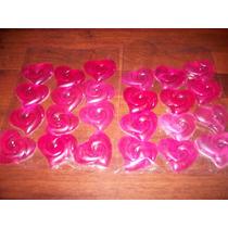 Corazones 5x5 Cm Jabon Artesanal Perfumados Pack Por 20