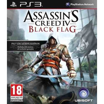 Assassins Creed Iv Black Flag Ps3 + Regalo Tarjeta Digital