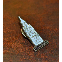 Pin. Big Ben London England.
