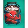 Mochila Jardin Con Carro Spiderman Original