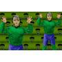Disfraz Increible Hulk Con Musculos Para Nenes