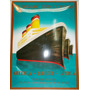 Cartel Compania Naviera Enlozado 33x 41